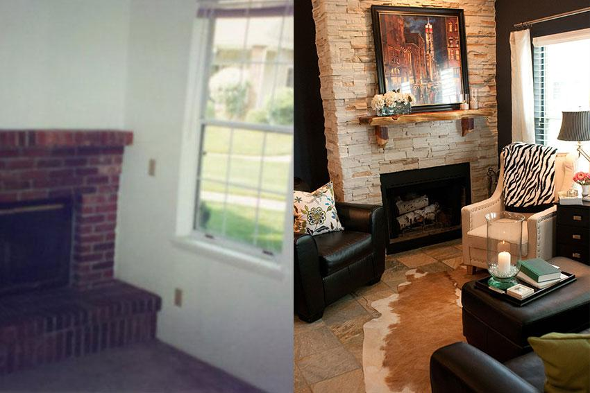 Before And After Interior Design Gallery
